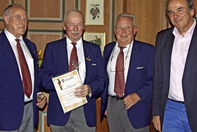 Franz Spiegelhalter seit 60 Jahren aktiv