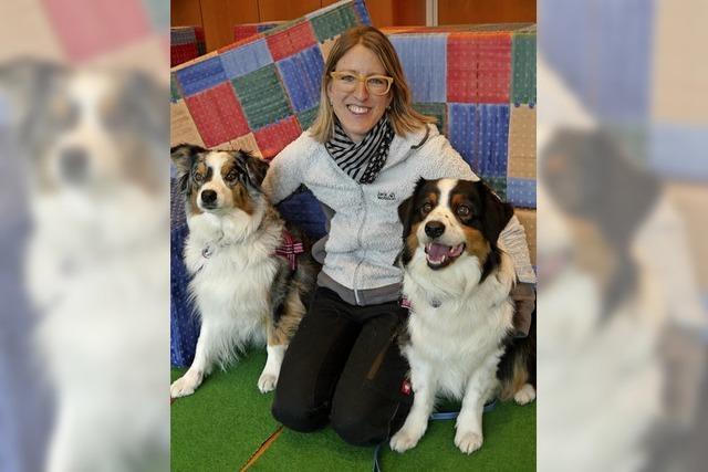 Neyla und Lani, zwei Therapeuten auf vier Pfoten