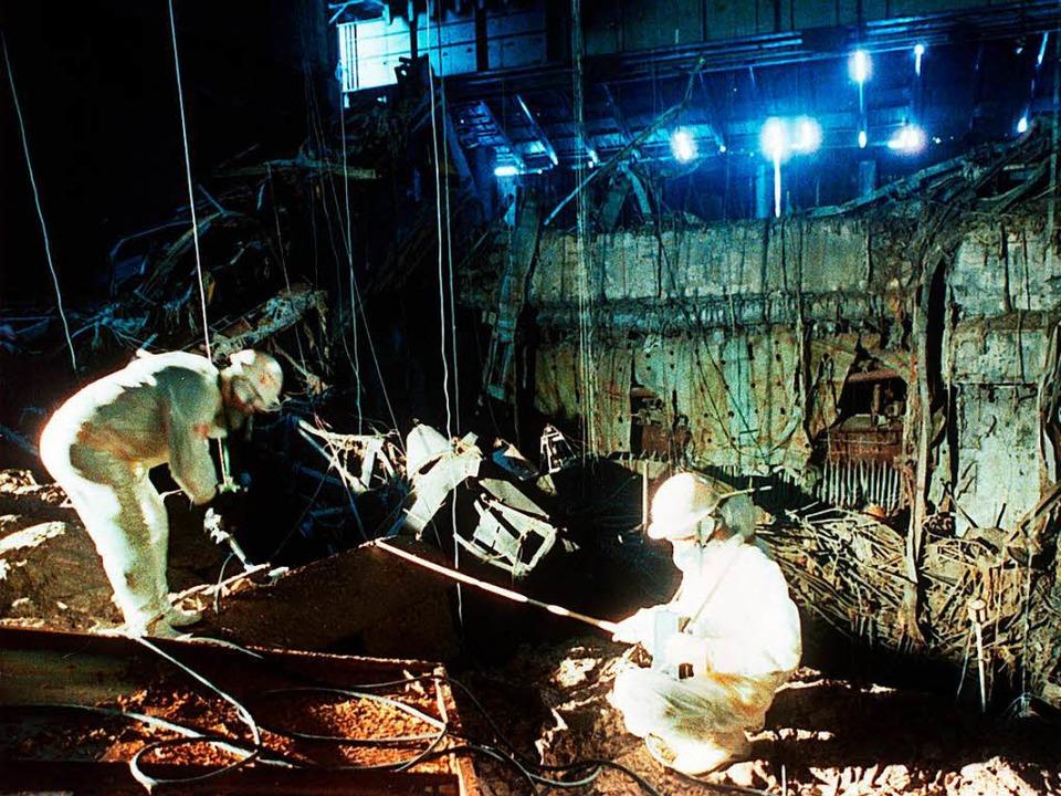 Die Folgen der Nuklearkatastrophe von ...86 sind heute noch spür- und sichtbar.  | Foto: dpa