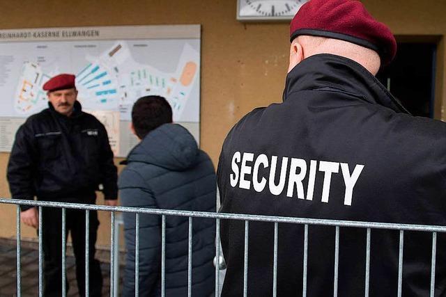 Sicherheitsdienste immer gefragter