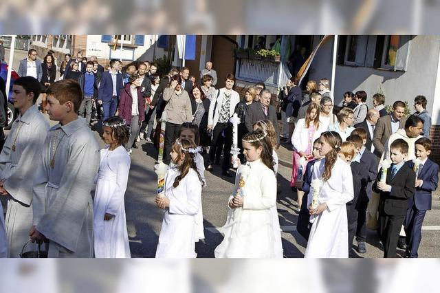 Erstkommunion in Schuttertal