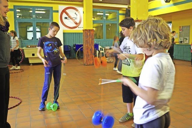 Das Jugendzentrum wird zur Manege