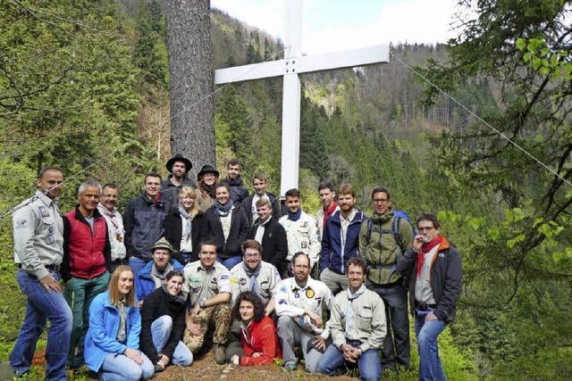 Die Kreuze erstrahlen wieder