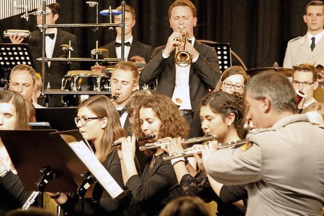 Junge Musiker und Profis brillieren