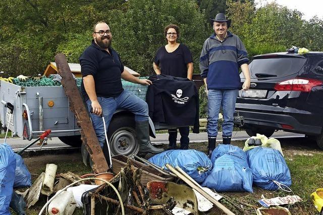 Das Cleanup Team Dreiländereck organisiert ehrenamtlich Putzaktionen