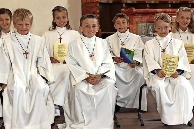 Das Fest der Erstkommunion