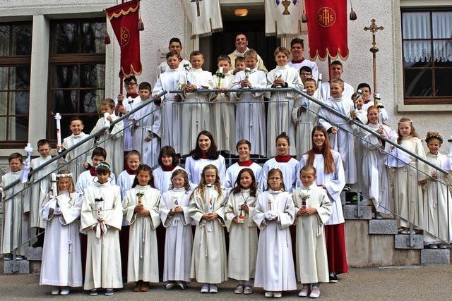 Weißer Sonntag in Löffingen und Unadingen
