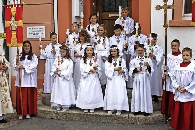 Erstkommunion in St. Blasien und Höchenschwand