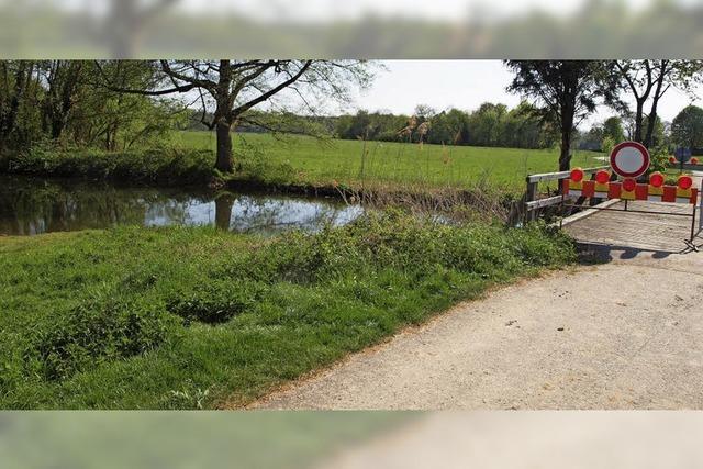 Seehofbrücke wird erneuert