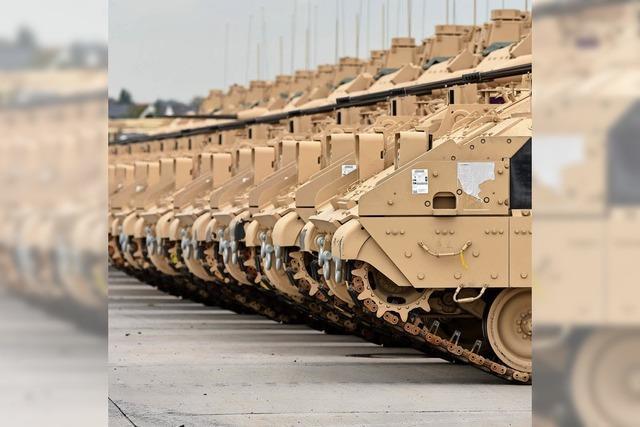 Mehr Geld für die Rüstung