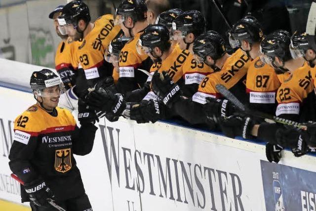 Das deutsche Team tankt Selbstvertrauen