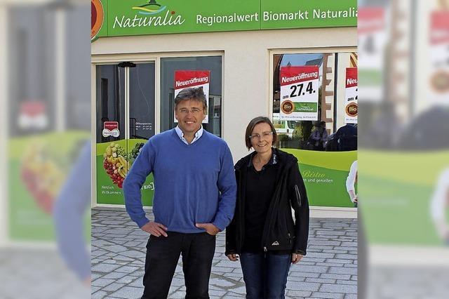 Biomarkt öffnet neu