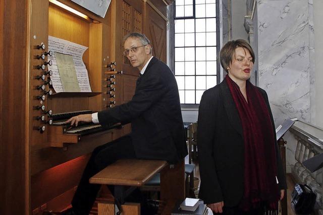 Konzert im Zeichen der Kirchenpatronin Maria