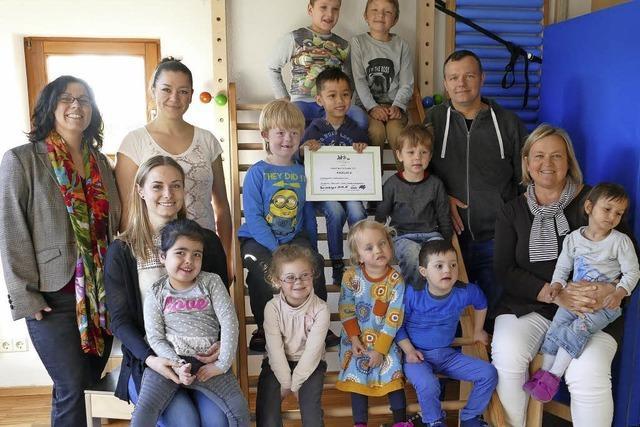 4400 Euro für Christian-Heinrich-Zeller-Kindergarten