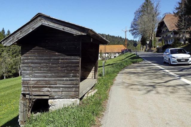 Wehrhalden will Buswartehaus