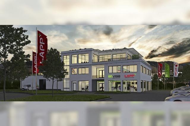 Lapp und Envisia bauen gemeinsam neuen Firmensitz auf dem Güterbahnhofsgelände