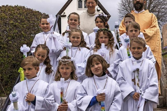 Erstkommunion in Grafenhausen