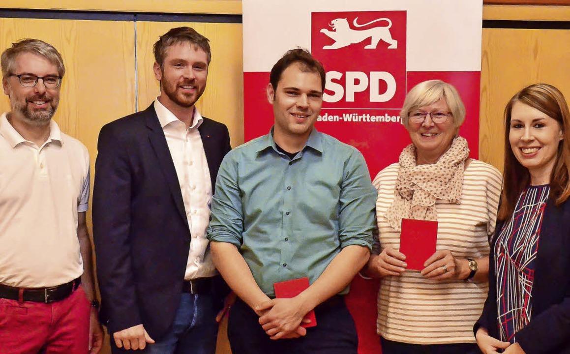 SPD Bad Krozingen-Hartheim: Die begehr...eneralsekretärin Luisa Boos (rechts).   | Foto:  Privat