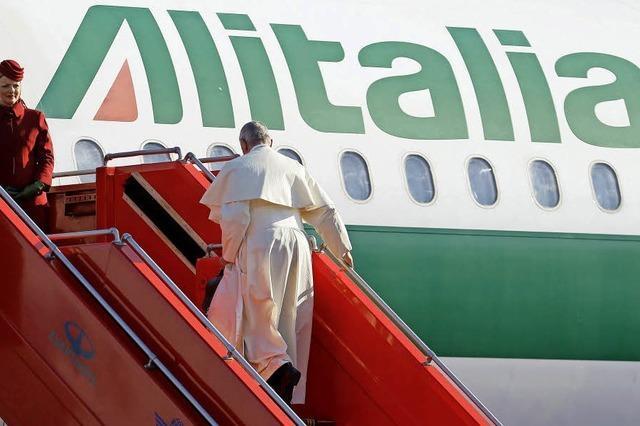 Selbst der Papst kann Alitalia nicht retten