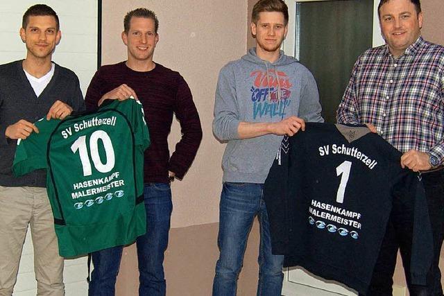 Zwei Neue für den SV Schutterzell
