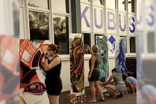 Kick-off-Veranstaltung zum Jugendkunstparkour in Freiburg