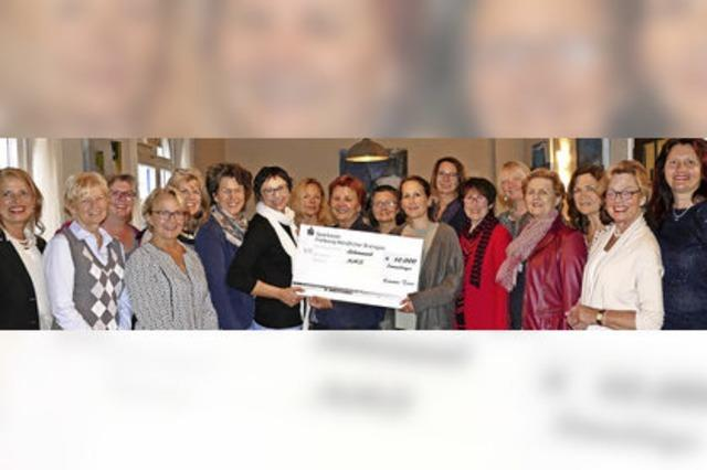 10 000 Euro für Kinder in Not