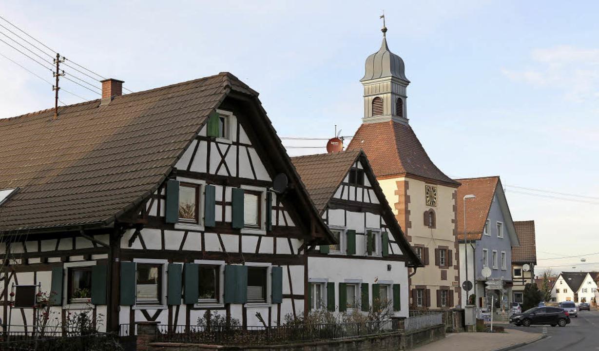 Altenheim mit seinen Fachwerkhäusern   | Foto: Christoph Breithaupt