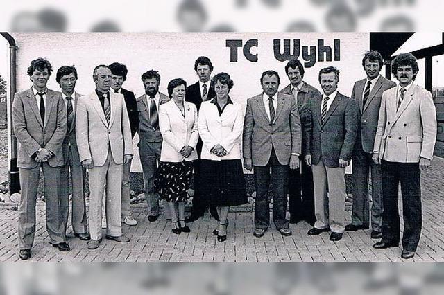 Tennisclub Wyhl feiert 40-jähriges Bestehen