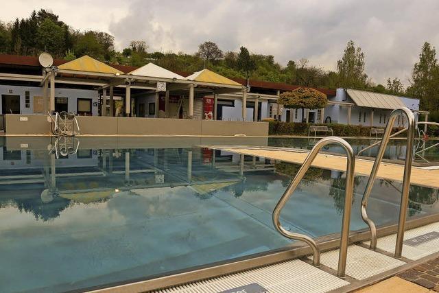 Kaltstart im Schwimmbad