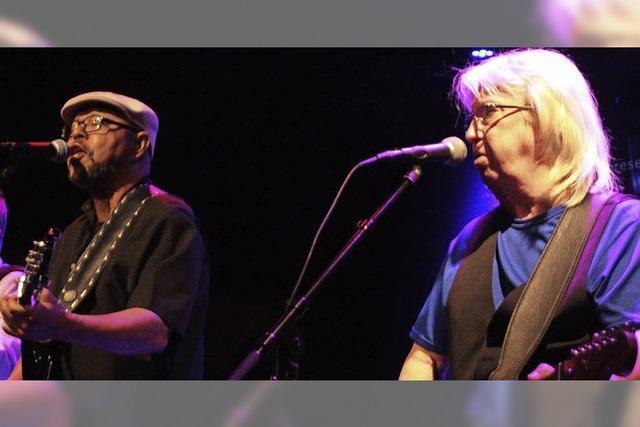 Larry Garner lebt und singt den Blues