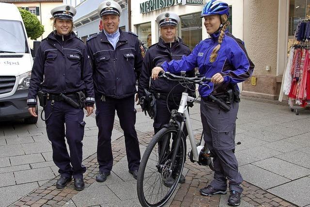 Radeln in der Steinstraße verboten