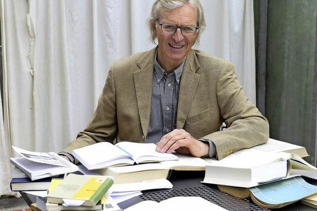 Holger Rudloff gestaltet Ringvorlesung an der Uni über