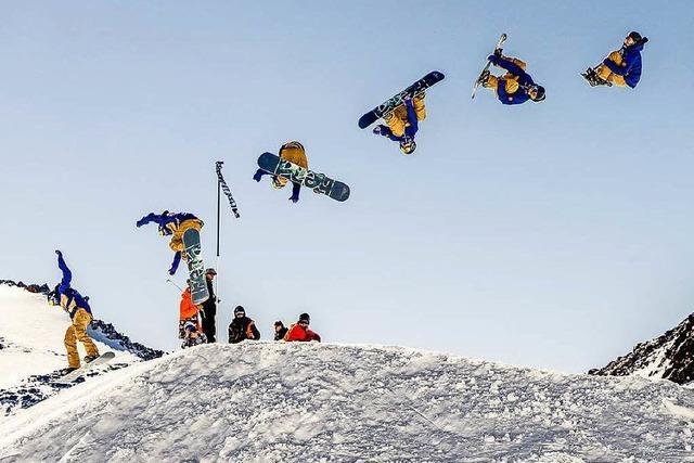 Hinterzartener Snowboarder schafft als erster Deutscher Dreifachsalto
