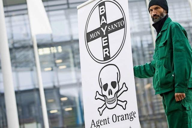 Bei der Hauptversammlung ging es um die Monsanto-Übernahme