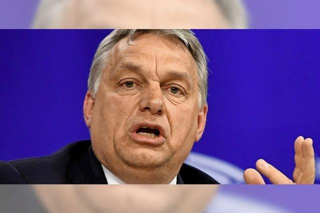 EU-Vertreter stellen Orban zur Rede