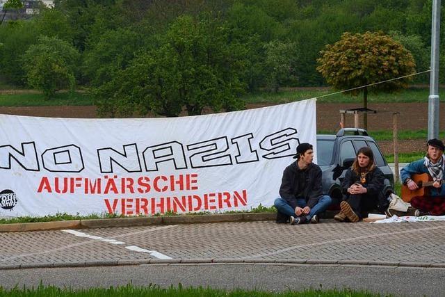 Video: So kam die AfD-Veranstaltung in Friesenheim an