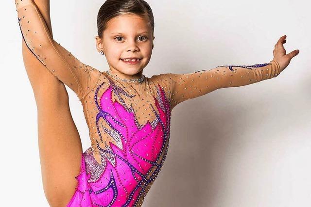 7-jährige Kenzingerin zeigt Akrobatik bei