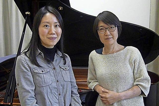 Reimi Matsuda und Izumi Shibata--Wagner in Endingen