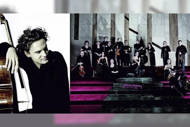 Cellist Leonard Elschenbroich und das Hungarian Chamber Orchestra gastieren im Kursaal in Bad Säckingen/Cellogastspiel von Benedikt Brand