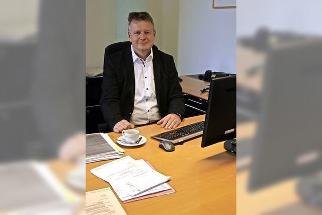 Interview mit Sulzburgs Bürgermeister Dirk Blens über seine Halbzeitbilanz