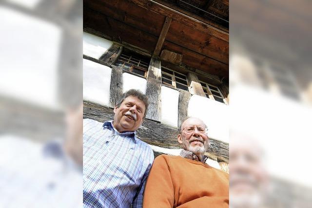 Interview mit dem neuen Vereinsvorsitzenden Martin Kickhöfen und Jürgen Kammerer zur Zukunft des Schneiderhofs