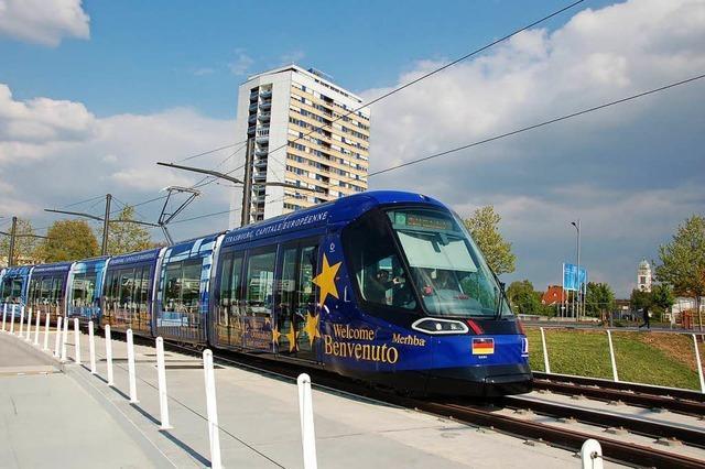 Tram-Eröffnung: Zwei Tage lang großes Spektakel am Rhein