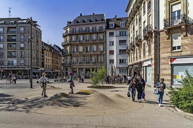 Austerlitz-Platz mit neuer Atmosphäre