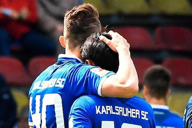 Der Karlsruher SC steigt aus der 2. Bundesliga ab