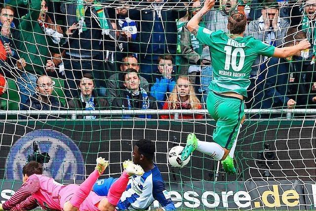 Werder Bremen besiegt Berlin mit 2:0