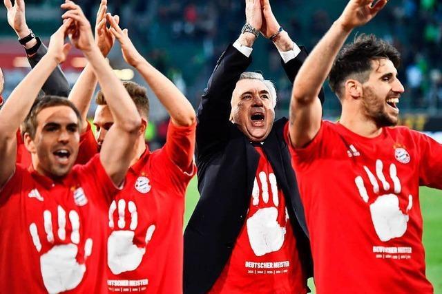 Bayern München ist zum 27. Mal Deutscher Meister