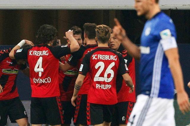 Freikarten für das SC-Heimspiel gegen den FC Schalke 04