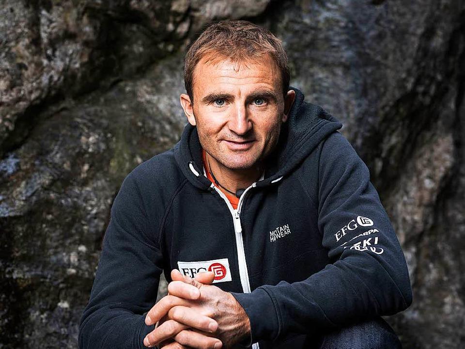 Der Schweizer Extrembergsteiger Ueli Steck  | Foto: dpa