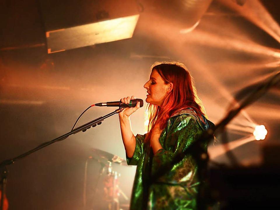 Judith Holofernes im Jazzhaus  | Foto: Laura Drzymalla