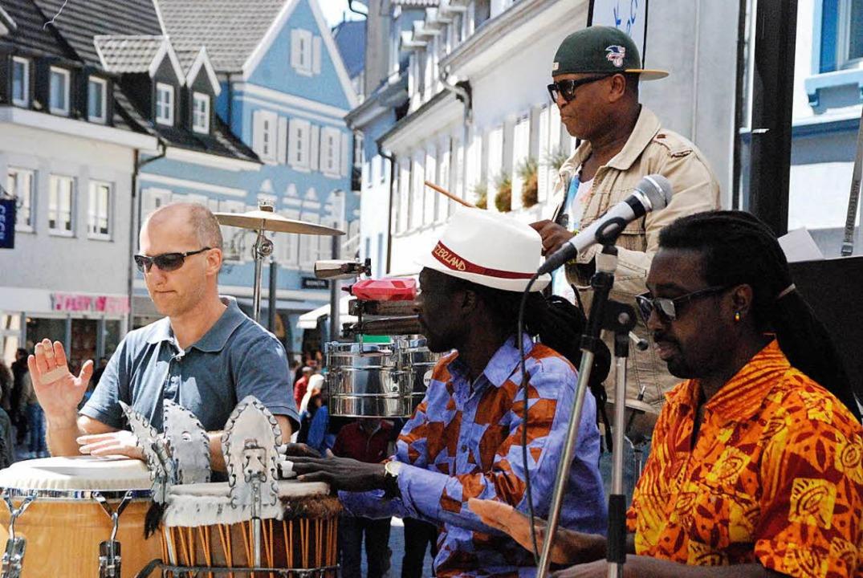 Da ist Musik drin: Kubanische Länge mit der Ritmo Jazz Group...    Foto: Maja Tolsdorf
